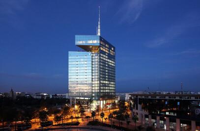 TOUR MAROC TELECOM Office tower