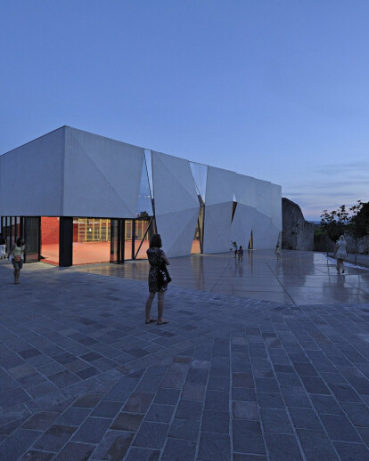 Sports Hall and Public Square in Krk