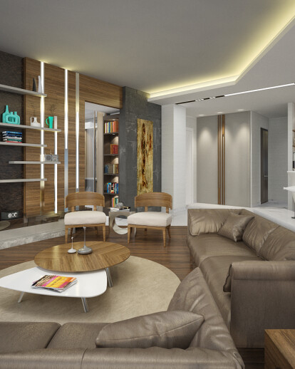 Loft Apartment / Istanbul