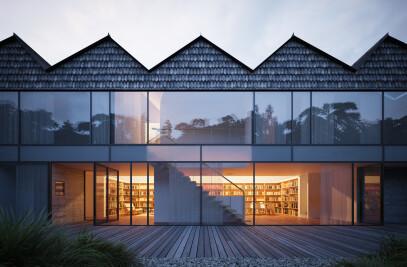 Hendee-Borg House: A Study in Nested Symmetries