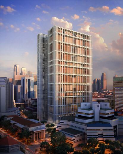 Singapore Courthouse