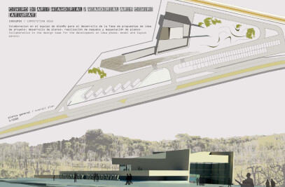 Propuesta presentada al Concurso de Proyectos para Centro del Neandertal en Piloña, AsturIas convocado por el Gobierno del Princ