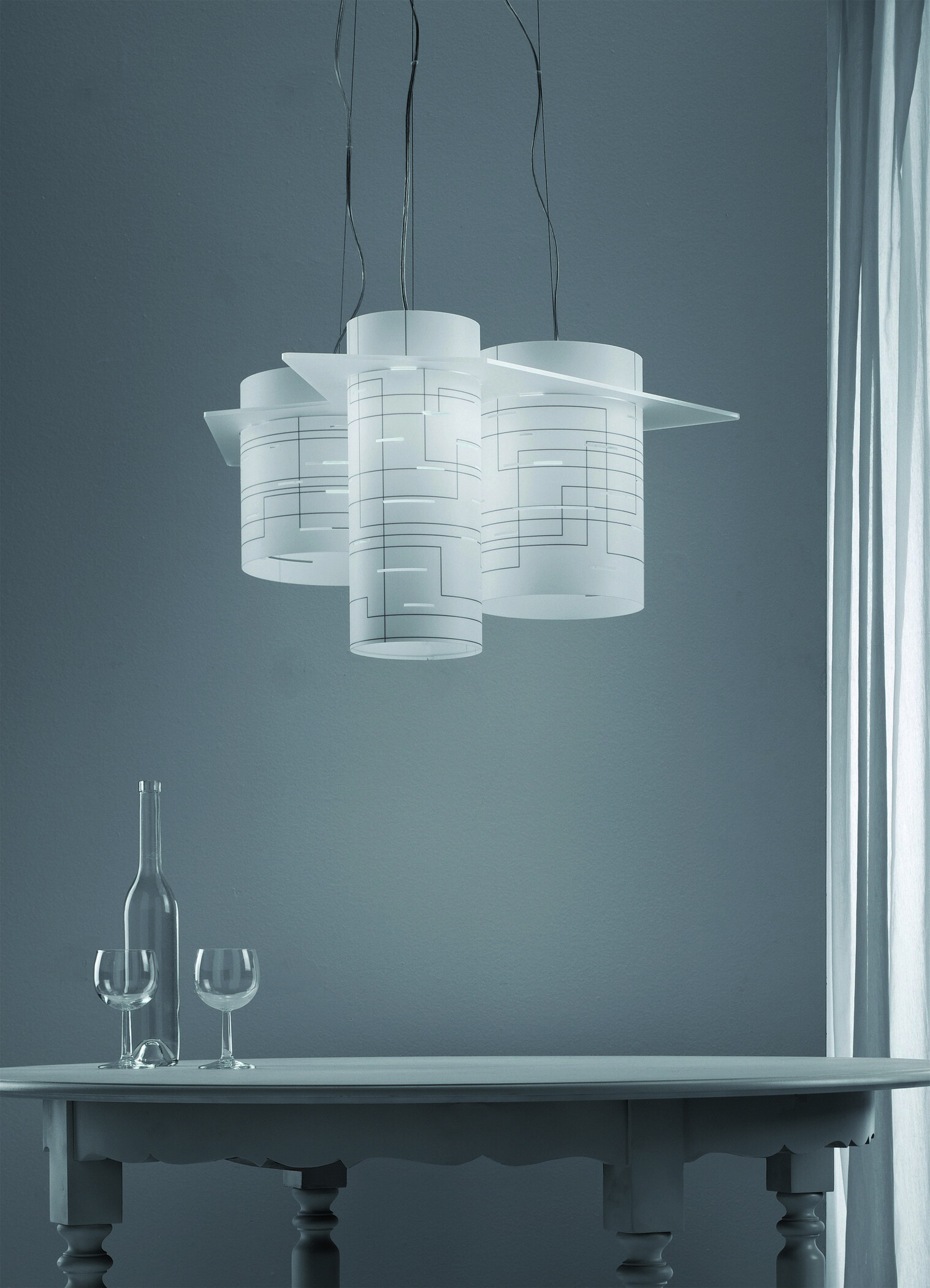Suspension Lamp. BROTHERS