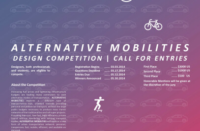 Alternative Mobilities - Design Competition