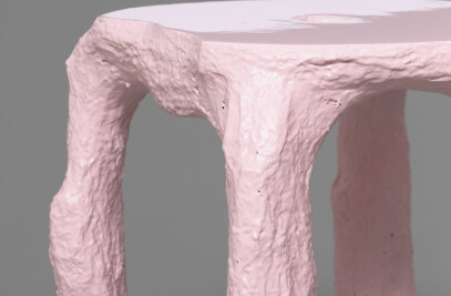 Reversed Process Stool