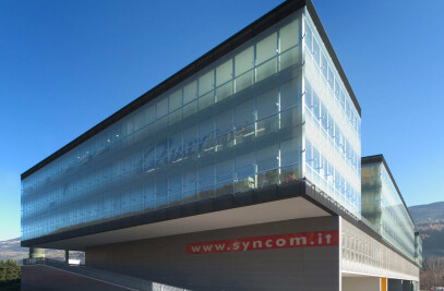Business park SynCom in Bressanone