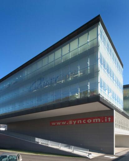Business park SynCom in Bressanone