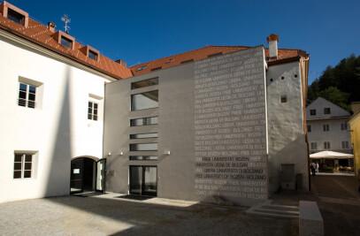 New seat of the Free University of Bolzano, Brunico
