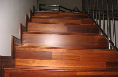 Stair Treads and finger jointed Flooring