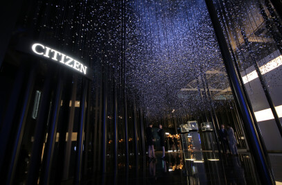 Compressed Time : Installation for Citizen in Baselworld 2014