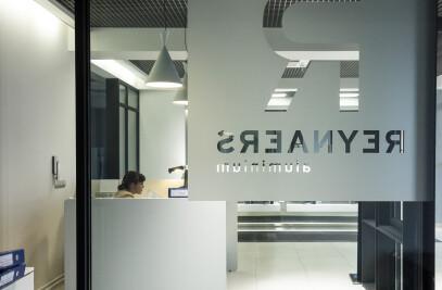 Reynaers Ukraine Show Room 2014