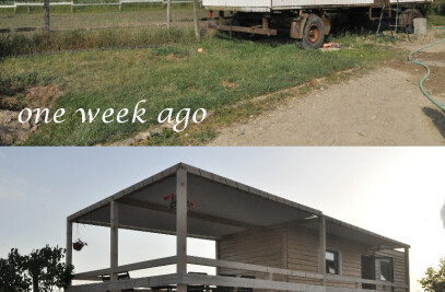 re-use of the old trailer