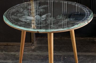 ANTIQUE MIRROR TABLES