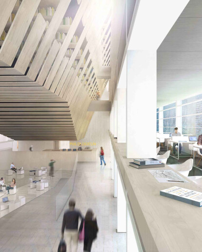Munich library competition