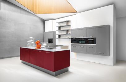 AV 5020 Lava grey and Wine red