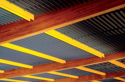 V100 / V200 - Baffles Metal Ceilings Interior