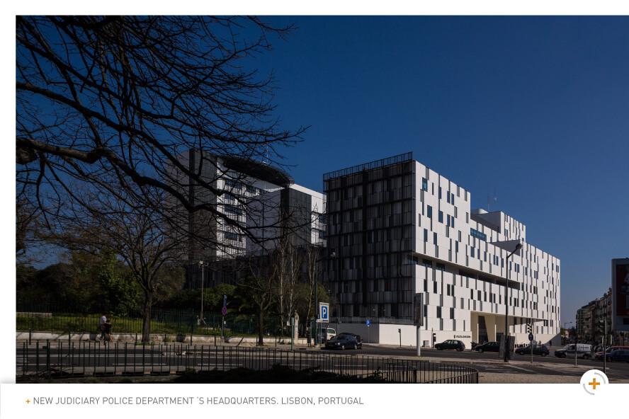 New Judiciary Police Department 's Headquarters,  Lisbon