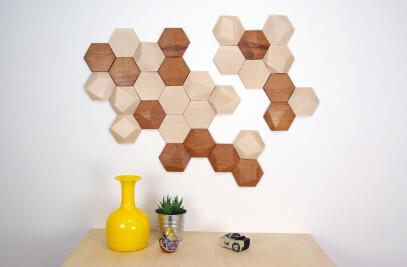 BEE APIS wood tiles