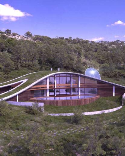 CURVY Eco-House
