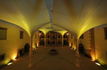 Castle Weitra Courtyard