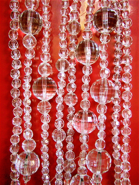 Acrylic Crystal Bead Curtains & Installations: Mem