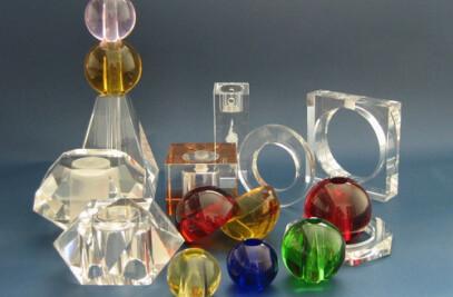 Crystal deco Glass