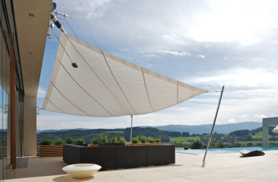 Sun Square Retractable Sail
