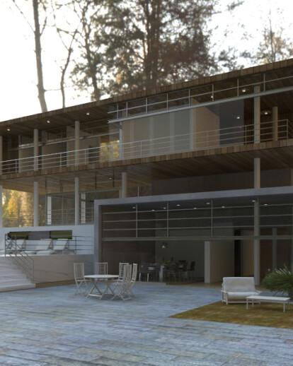 Temporary House