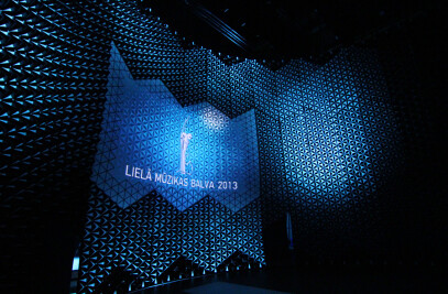 Scenography for the Grand Music Award