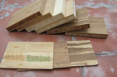 Furniture grade bamboo panels