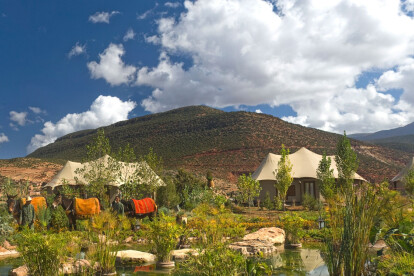Kasbah Tent Garden