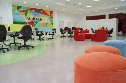 Equipment new office - Unitech sa.