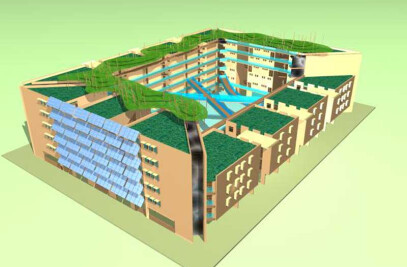 OASIS ECO-HOUSING COMPLEX