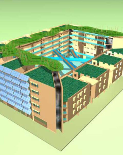 OASIS ECO-HOUSING COMPLEX