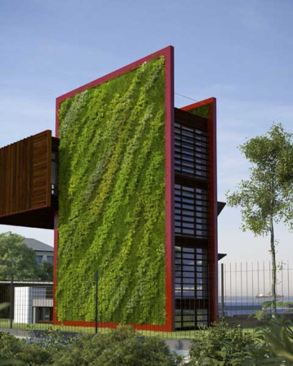 GREEN² HOUSE