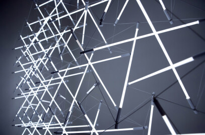 Tensegrity Space frame Lights