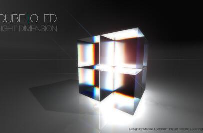 CUBE|OLED luminaire