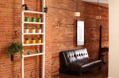 Planting shelves