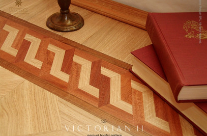 Hardwood Floor Borders - The VICTORIAN II Pattern