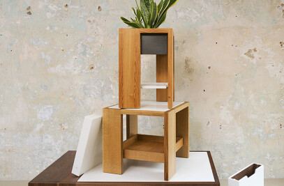 Otto by Andrew Franz - Box Table Series