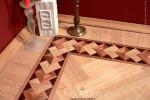 The PALAZZO hardwood floor border