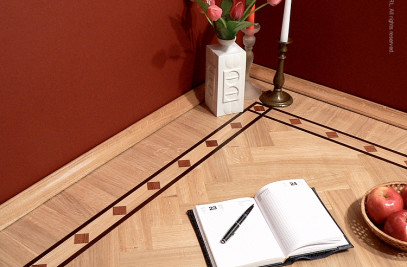 Hardwood Floor Borders - The IINFINITY Pattern