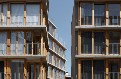 RUE DES ORTEAUX — 20 EXPERIMENTAL SOCIAL HOUSING UNITS