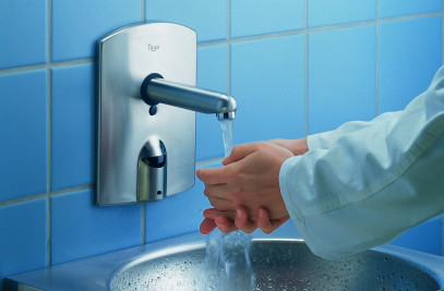 Iqua Ultra Basin Faucets By Aquis Sanitary Ag Archello