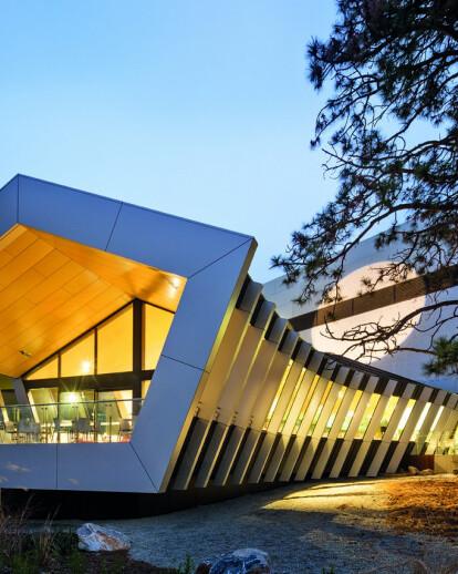 CAFÉ EXTENSION -  NATIONAL MUSEUM OF AUSTRALIA`