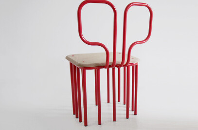 4 squared Chair