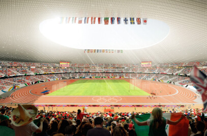 NEW NATIONAL STADIUM IN JAPAN