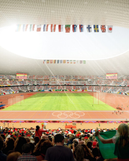 NEW NATIONAL STADIUM IN JAPAN
