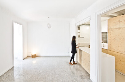 Renovation of an apartment in Eixample