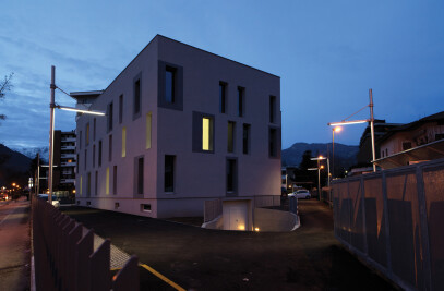 Renovation with energy requalification of the old police station of Trento municipality